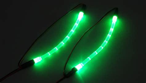 Lu Led Motor Thunder hobbypartz green underbody lighting kit for rc cars