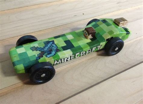awana grand prix car templates minecraft pinewood derby car completely all painted