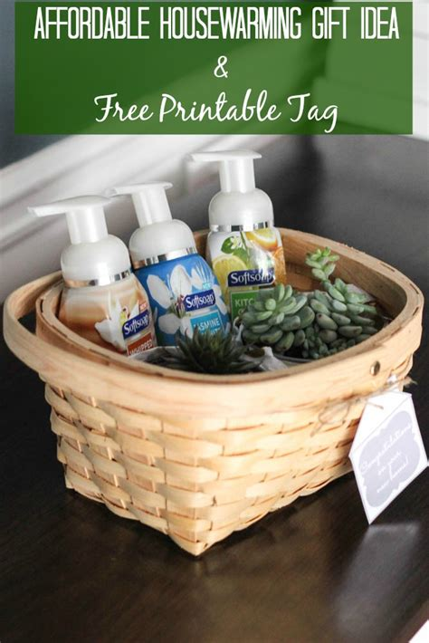 gifts for house warming affordable housewarming gift idea free printable tag