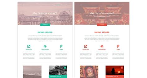 website layout templates 20 clean modern free web layout psds idevie