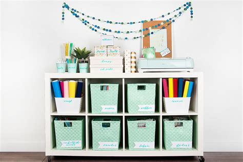 Cricut Craft Room Tutorials by Organizing Your With Your Cricut Machine Cricut