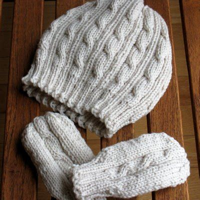 baby mitten pattern knitting knitting patterns galore cabled baby hat and mittens set