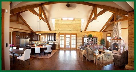 concept homes open concept log homes images