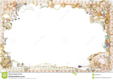 Jewelry Border Clip Jewelry Borders Free Clipart