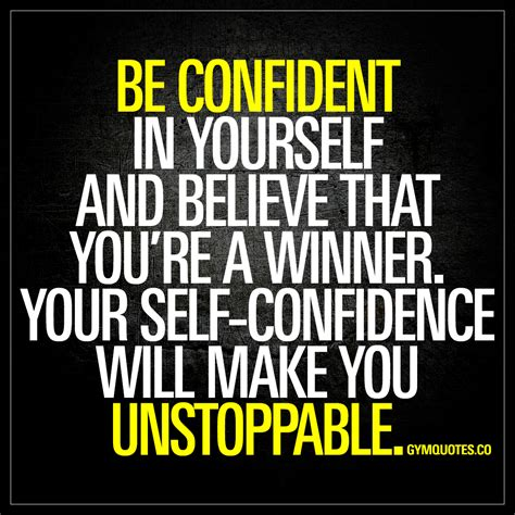 Be Confident be confident quotes magnificent 20 inspiring self