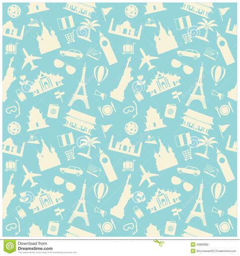 passport background pattern vector travel background pattern stock vector image 43860082