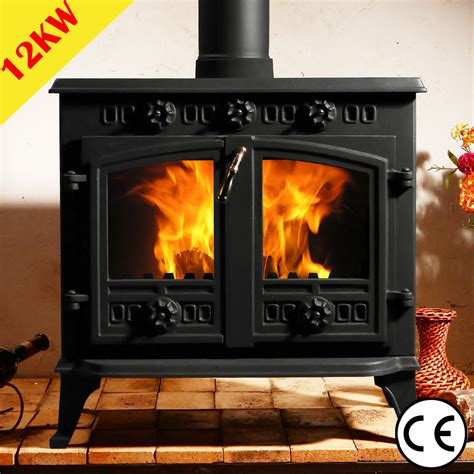 Efficient Wood Burning Stove 5 5kw Multifuel Stove Cast Iron Log Woodburner High
