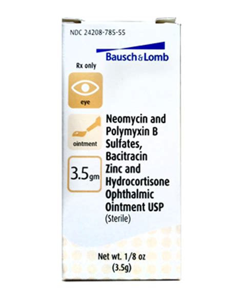Detoxing Neomycin by Antibiotic Eye Ointment With Hydrocortisone Farmvet