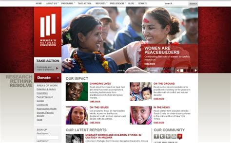 nonprofit web design inspiration design inspiration 25 non profit websites ipixel