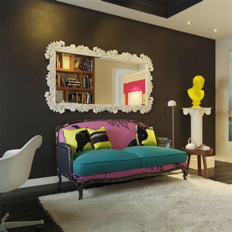 Un apartamento en rosa, turquesa, amarillo y verde   Blog