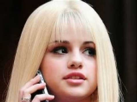 Blonde Hairstyles Youtube | selena gomez blonde hair youtube