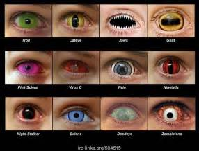 creepy colored contacts 17 best images about cool contacts on glow