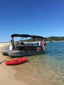 epic pontoon boats bbq pontoon boat hire half day noosaville epic deals