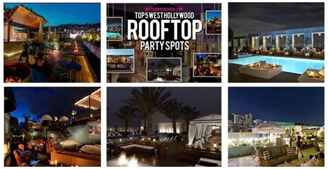 top bars in hollywood rooftop bars best in la everything rooftop bar party guide