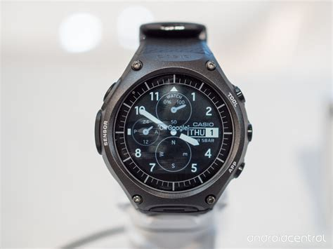 casio s wsd f10 android wear smartwatch is rugged like