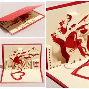 Hand Made Gift Cards - 3d greeting cards paper cut folding gift card postcards handmade gift cards ebay