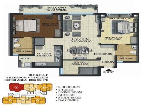 regency park floor plan 1265 sq ft 2 bhk 2t apartment for sale in aarcity regency
