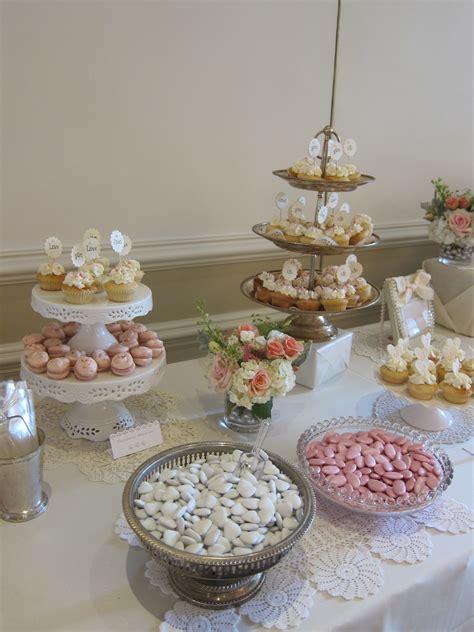 bridal shower dessert table vintage bridal shower dessert table sweet