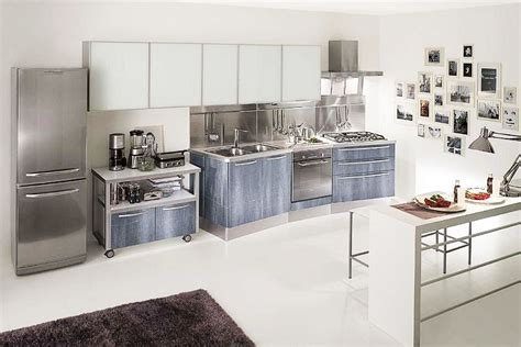 stainless steel kitchen ideas 6 beautiful stainless steel kitchen ideas