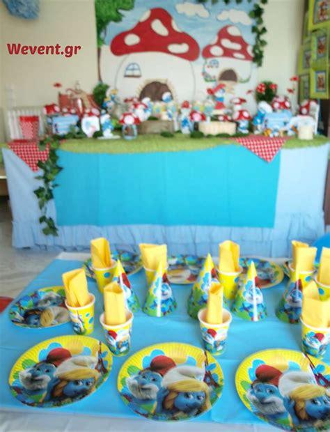Smurfs Baby Shower Theme by Smurfs Birthday Ideas Photo 1 Of 28
