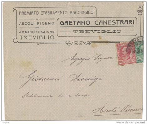 ufficio postale treviglio storia postale as89 busta postale pubblicitaria
