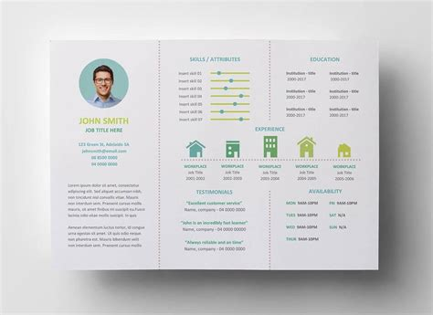 Unique Resume Templates 15 Downloadable Templates To Use Now Resume Brochure Template