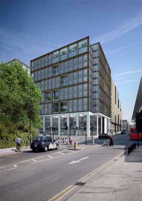 Modern Home Design Uk by King S Cross Building Camden Council Centre E Architect