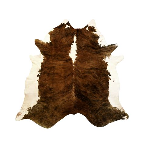 coloured cowhide rugs tri color brindle cowhide rug chesterfield leather touch of modern