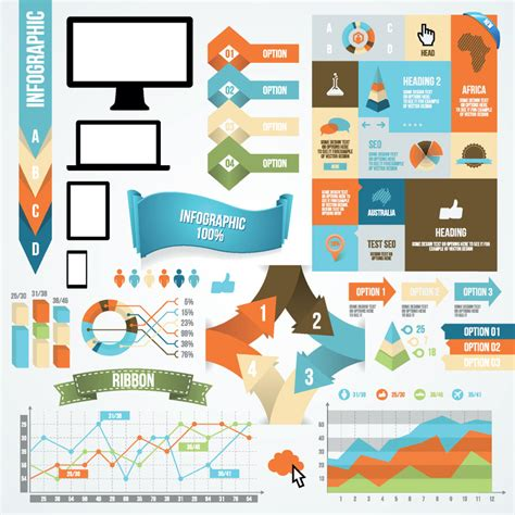 infographic and diagram design elements vector infographic and diagram design elements by darkstalkerr on