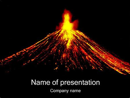 powerpoint themes volcano volcano powerpoint template potlatchcorp info