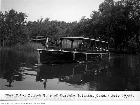 public boat launch toronto vintage photographs from the toronto islands