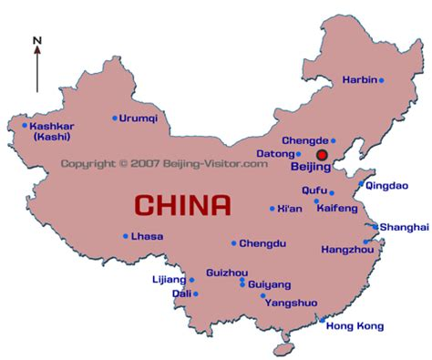 map of china cities china city guides beijing visitor china travel guide