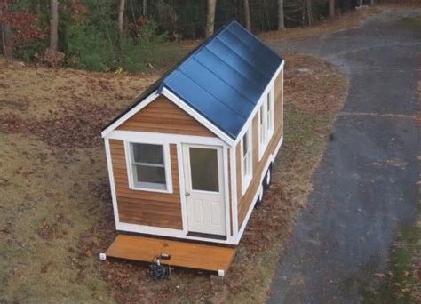 living roof solar system solar tiny house doubles as tri houseboat