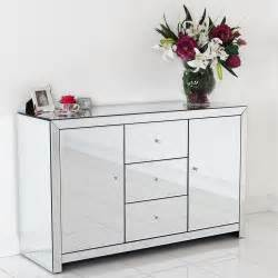 Buffet Storage Credenza Mirrored Furniture The Best Sideboards Home Decor Ideas
