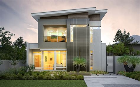 narrow lot house plans modern house