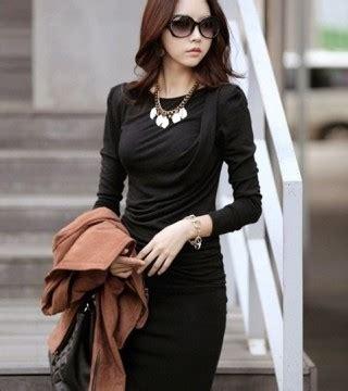 Tas Wanita Korea Murah Bahu Hitam Import dress korea hitam panjang selutut model terbaru jual