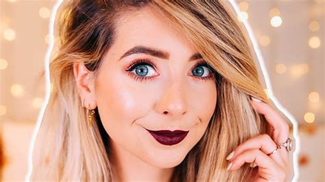 makeup tutorial youtube zoella hot on youtube my every day autumn makeup zoella