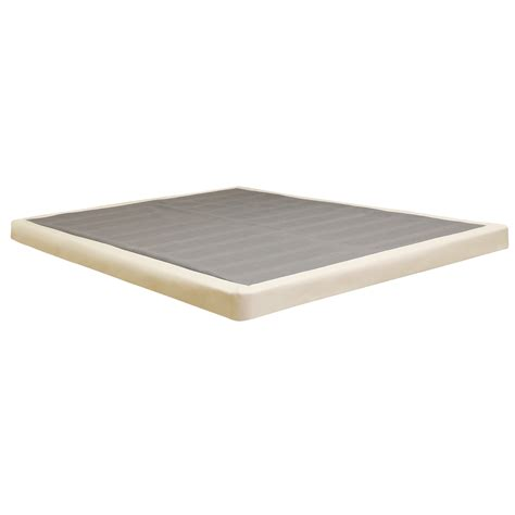 bed box spring queen classic brands low profile foundation box spring 4 inch