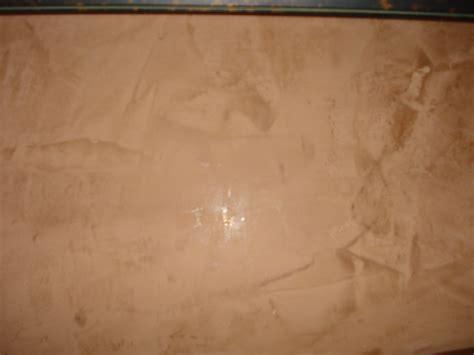 Venetian Plaster German Plaster On Brick Brown Hairs