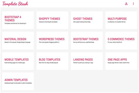 theme template picked free themes at template stash my