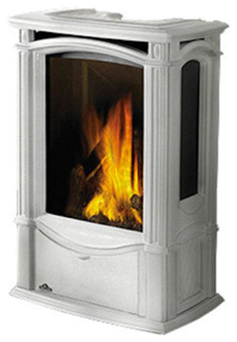 napoleon freestanding gas fireplace shop houzz napoleon gas stove castlemore white