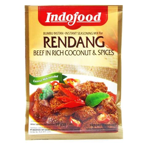 indofood seasoning mix rendang   buy asian food