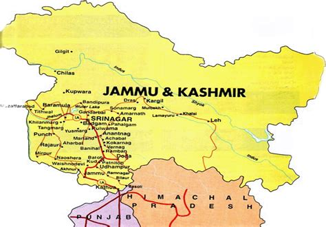 Kashmir India Map by Ten Maps Of Kashmir That Angered India The Kashmir Walla