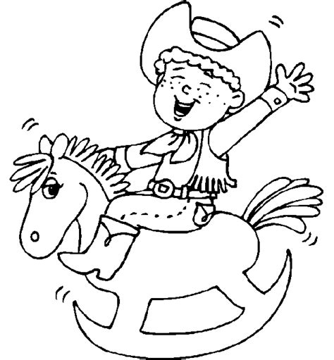 preschool rodeo coloring pages cowboy coloring pages 3 coloring pages to print