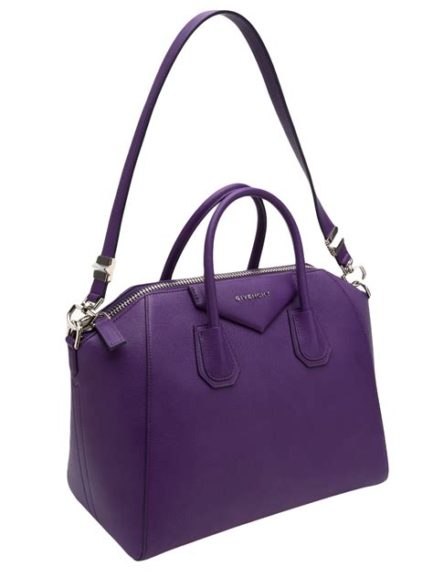Givenchy Antigona Medium Pink givenchy antigona medium bag in purple pink purple lyst