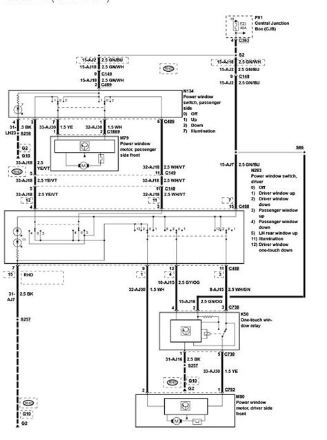 ford ka wiring diagram electric windows efcaviation