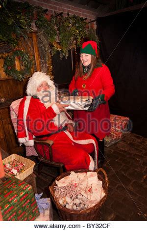 christmas elves england united kingdom europe stock
