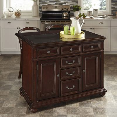 colonial cherry kitchen island buy colonial classic kitchen island with granite top