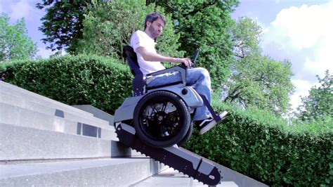 Stair Climbing Chair by Scalevo The Stairclimbing Wheelchair Eth Zurich