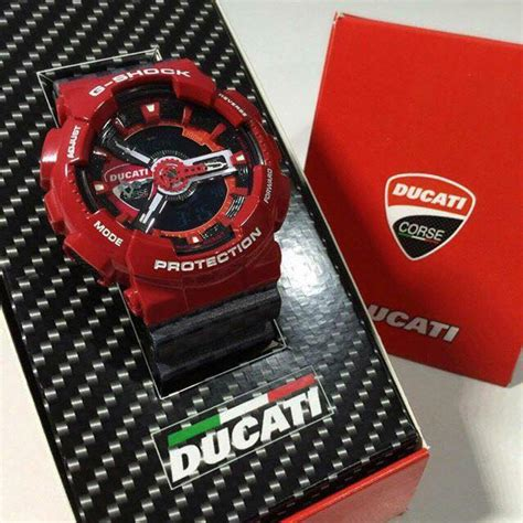 g shock ducati ga 110 live casio photos